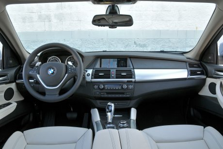 BMW X6 interiör